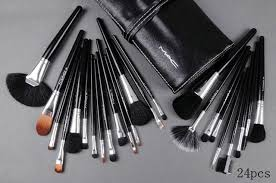 mac por 24 pcs mac makeup brush set mac makeup eyeshadow prestigious