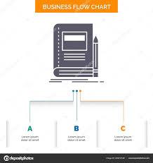 Book Business Education Notebook School Business Flow Chart