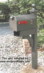 mailbox posts metal. Metal Mailbox And Post Posts