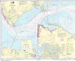 Noaa Nautical Chart 12245 Hampton Roads