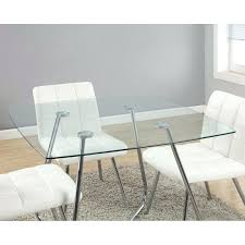 40 inch dining table wide extendable modern square x with tempered glass top