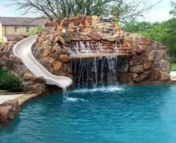 backyard pool with slides. Great Pool Slides Safety Information Water For Backyard Pools With