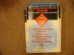 Fishing Hot Spots St Lawrence River Central West Lake George Gps Maps