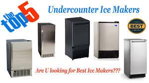 under cabinet ice maker. Best Undercounter Ice Maker Reviews Under Cabinet