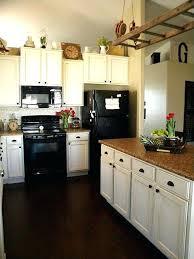 kitchen ideas white cabinets black appliances. White Cabinets Black Appliances Kitchen With Cabinet Ideas