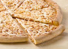 menu cheese pizza