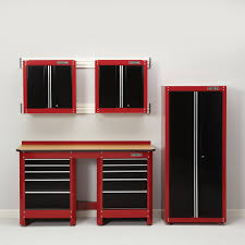 black storage cabinet. Best Garage Storage Cabinets Sears With Red And Black Plus Grey Wall Cabinet