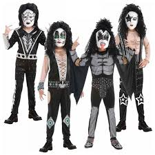 kiss costume kids fancy dress