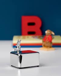 bunnykins silver box by royal doulton special order