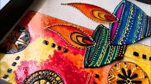 Diwali Glass Painting Designs Easy Diy Glass Painting Technique For Beginners Beautiful Diwali Special Wall Decor Idea