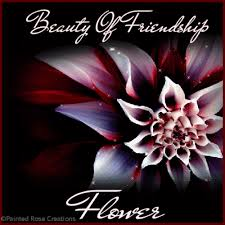 Beautiful Flowers With Friendship Quotes