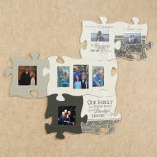 blessings photo frame puzzle piece wall art blessings e photo frame cream touch to zoom