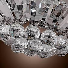 antonia 4 light crystal semi flush mount chandelier