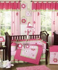 baby sheet sets baby girl bedding set pink green flowers