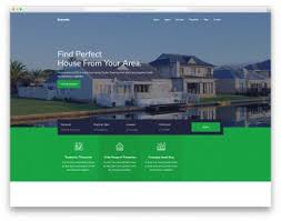 Best Free Real Estate Website Templates 2021 - Colorlib