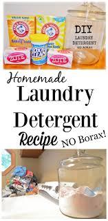 diy homemade laundry detergent no borax