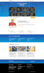 Website Html Templates Blue Collar Handyman HTML Template By LSVRthemes ThemeForest 6