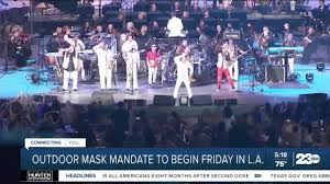 Outdoor mask mandate starts Friday in L.A.
