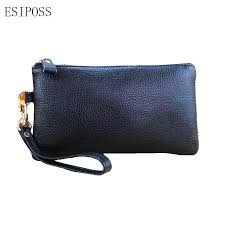 women genuine leather cosmetic bags lady mobile phone bag key holder bags money purse leather cosmetic case storage organizer bag face products professional
