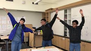 Dancing in middle school math - YouTube