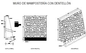 Small Picture retaining wall design drawing