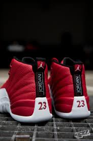 jordan shoes 12 red. the air jordan 12 retro gym red is one of hottest colorways we\u0027 shoes