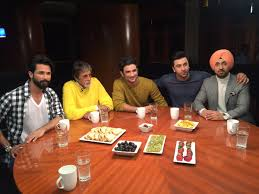 Actors Round Table Rajeev Masand On Twitter What A Day Thank You Srbachchan
