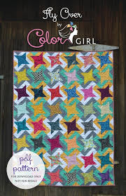 306 best Quilt Patterns images on Pinterest | Quilt patterns, Fat ... & modern patchwork sewing quilt pattern with stars. Quilt for beginner  sewers, right for scraps and pre-cut squares, by Color Girl Sharon Mcconnell Adamdwight.com