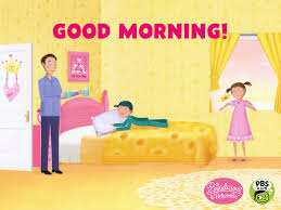 tired good morning gif by pbs kids