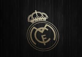 real madrid gold logo wallpaper hd