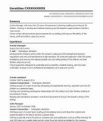 409 Management Cv Examples Childcare Cvs Livecareer