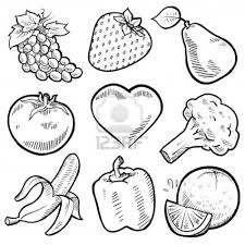 Coloring Download. Fruit And Veggie Coloring Pages: Fruit And ...