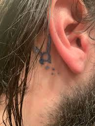 A Tattoo Of Navi From Ocarina Of Time Behind My Ear Zelda