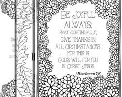 Small Picture 5 Bible Verse Coloring Pages Set 1 Inspirational Quotes DIY