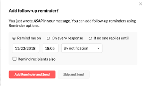Email Reminder Email Reminders Follow Ups