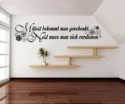 Wandtattoo Spruch Mitleid Neid Tattoo Wandsticker Zitate Zitat
