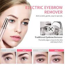 Online Shop <b>ANLAN Electric Eyebrow Trimmer</b> Makeup Painless ...