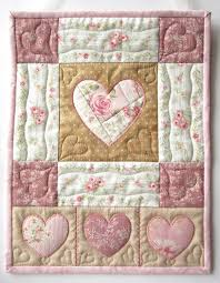 350 best Heart Quilts images on Pinterest   Heart quilts, Pointe ... & Heart Wall Hanging Heart Quilt Shabby by LittleTreasureQuilts, $65.00 Adamdwight.com