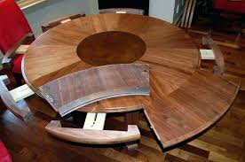 dining table round extendable expandable dining room tables for small spaces round expanding dining room table