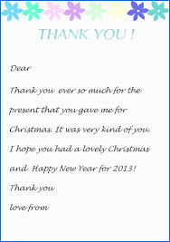 thank you note to boss for gift elegant how to write a