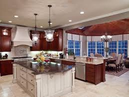 Painting Cherry Kitchen Cabinets White And With Design Decorating