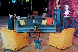 funky living room furniture. funky furniture and accent pieces made the space feel like a vintage living room u