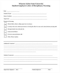 employee discipline template employee write up form template dailystonernews info