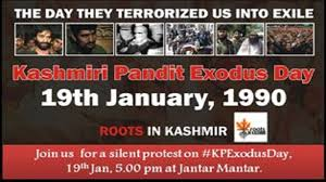 Image result for Kashmiri pandit fleeing kashmir images pictures
