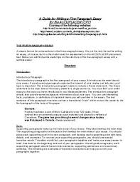 five paragraph essay rough draft a guide for writing a five paragraph essay for the accuplacer