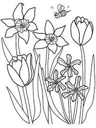 Printable Spring Coloring Pages Social Work Parenting Teaching