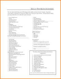 what to put in a skills section of a resume download sample