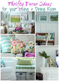 thrifty decor ideas for your living dining room by the happy housie for lovely etc