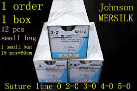 Us 19 9 Medical Suture Line Johnson Ethicon Mersilk Line Surgical Non Absorbable Suture Line Sterile Real Silk Braid Line Instrument In Braces