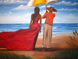 island solitude painting of afro american culture in charleston sc by dana coleman